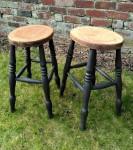 Oak stools